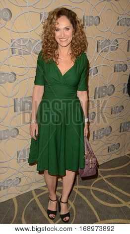 LOS ANGELES - JAN 8:  Amy Brenneman at the HBO Golden Globes After-Party at Circa 55 at Beverly Hilton Hotel on January 8, 2017 in Beverly Hills, CA