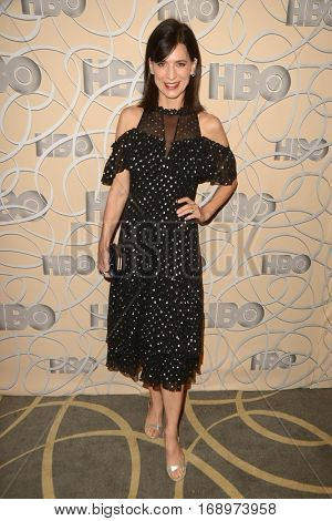 LOS ANGELES - JAN 8:  Perrey Reeves at the HBO Golden Globes After-Party at Circa 55 at Beverly Hilton Hotel on January 8, 2017 in Beverly Hills, CA