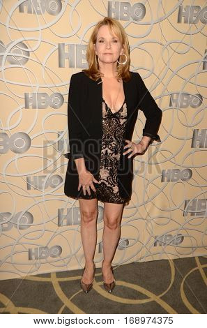 LOS ANGELES - JAN 8:  Lea Thompson at the HBO Golden Globes After-Party at Circa 55 at Beverly Hilton Hotel on January 8, 2017 in Beverly Hills, CA