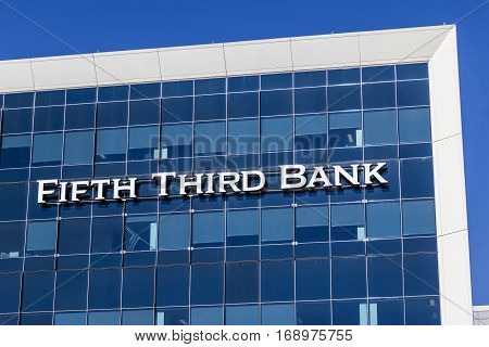 Indianapolis - Circa February 2017: Fifth Third Consumer Bank Branch. Fifth Third is a US regional banking corporation V