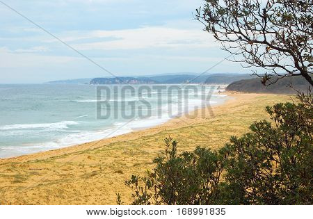 Middle Beach on the Sapphire Coast of New South Wales, Australia