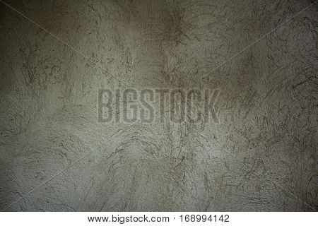Photograph of a wall with unpainted repellent finish.