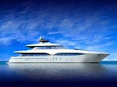 Luxury Yacht poster