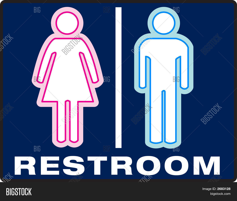 Unisex Bathroom Symbol Image Photo Free Trial Bigstock - Unisex bathroom sign