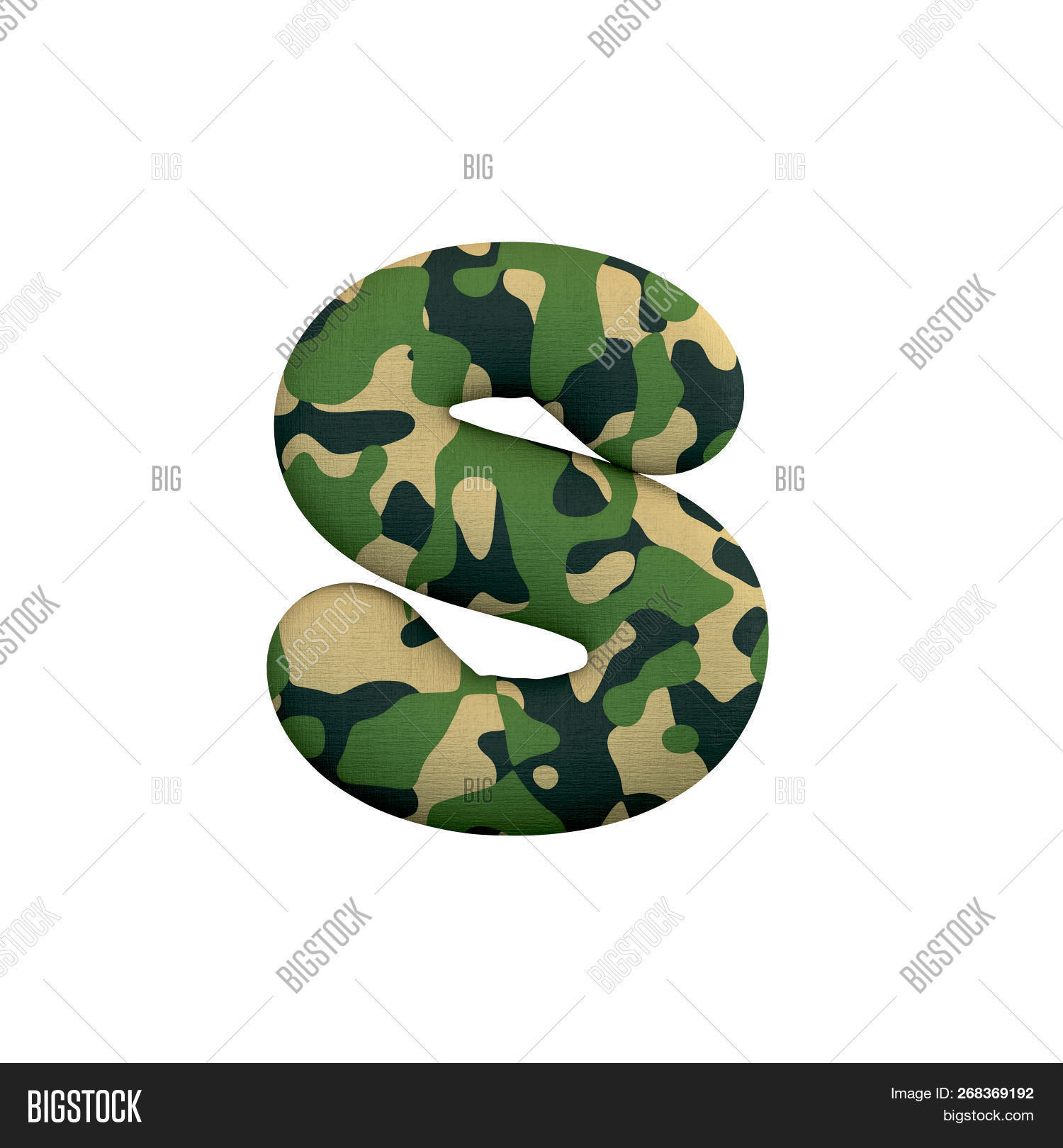 Army Letter S - Lower- Image & Photo (Free Trial) | Bigstock