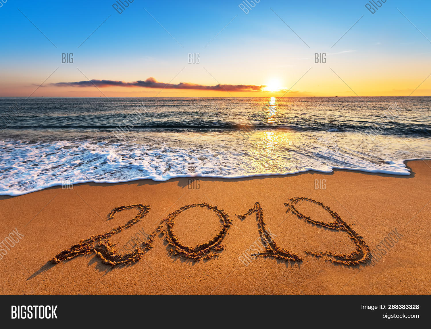 Number 2019 Written On Image & Photo (Free Trial) | Bigstock