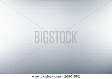 un'immagine di un grigio liscio satinato metallo sfondo