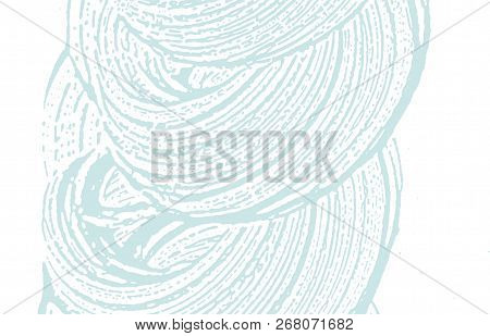 Grunge Texture. Distress Blue Rough Trace. Classic Background. Noise Dirty Grunge Texture. Valuable