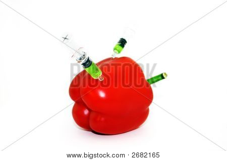 Pepper With Syringes