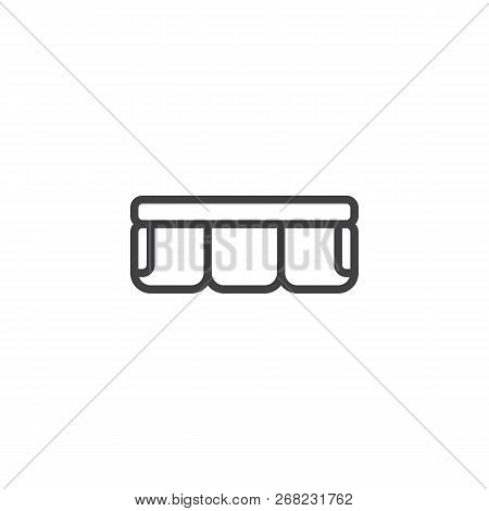 Sofa Top View Outline Vector Photo Free Trial Bigstock