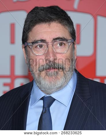 LOS ANGELES - NOV 05:  Alfred Molina arrives to the 'Ralph Breaks the Internet' World Premiere  on November 5, 2018 in Hollywood, CA