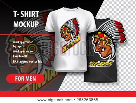 T Shirt Mockup Indian Vector Photo Free Trial Bigstock