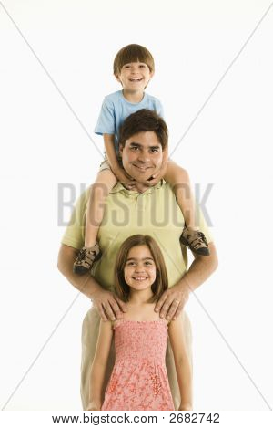 Father And Children.