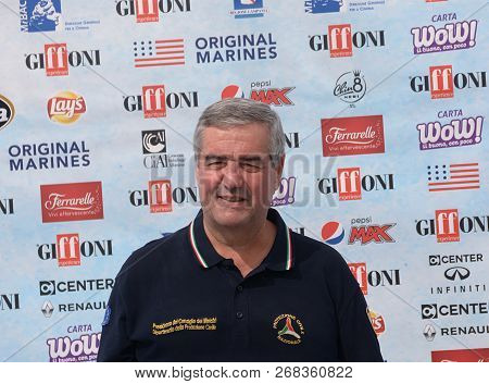 Giffoni Valle Piana, Sa, Italy - July 25, 2018 : Angelo Borrelli At Giffoni Film Festival 2018 - On