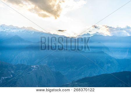 Sunrise In Himalayas Khaliya Top, Munsiyari - Uttarakhand