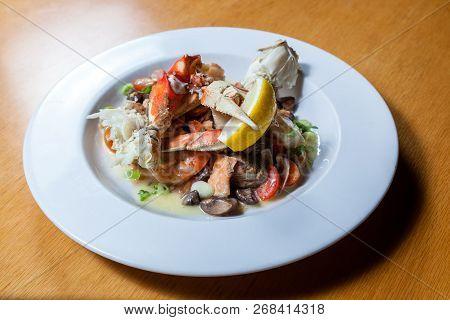 Sautéed Seafood Dish