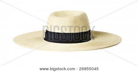 Woman's Sun Hat on white