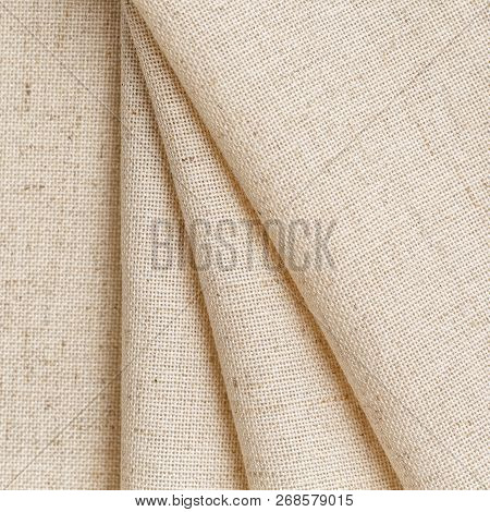Soft Linen Fabric For Clothing. Comfort And Practicality Clothing