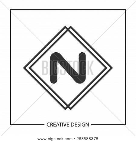 initial letter n logo vector photo free trial bigstock