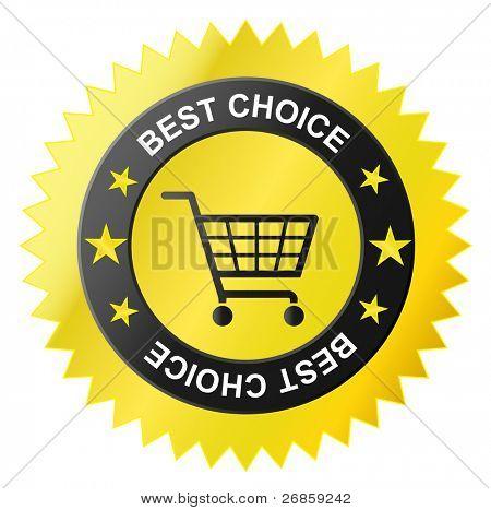 shop basket icon, Best sale