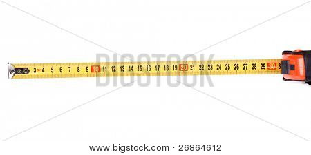 black and yellow tape measure poster