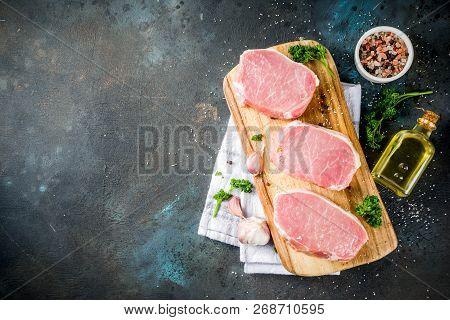 Raw Fresh Meat, Pork Brisket Steak