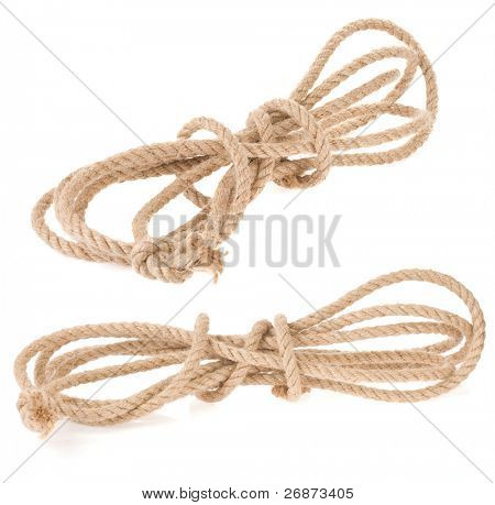rope isolated on white background