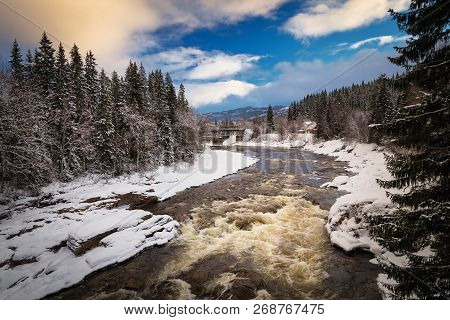 River Formofoss, Grong Area, Norway
