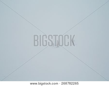 Icy Ski Lift With Inexperienced Skier In In Thick Fog. Lost Skiers In The Fog On A Snowy Mountain. I