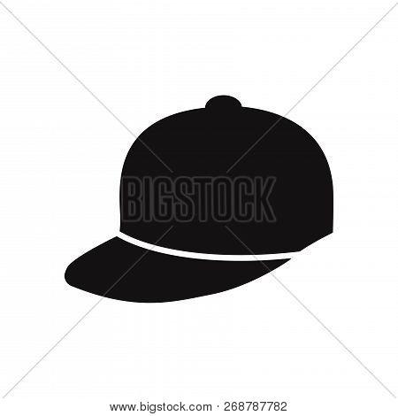 Baseball Cap Icon Isolated On White Background. Baseball Cap Icon In Trendy Design Style. Baseball C