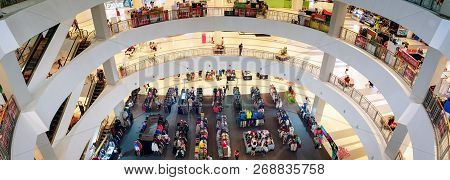 Bangkok, Thailand - November 10: Cheap Clothing Sale Takes Place On The First Floor Of Seacon Square