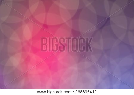 Blurred Circular Points Bright Light. Can Used For Design Background And Web Design