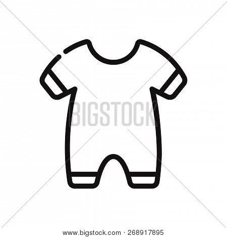 Baby Pajama Icon Isolated On White Background. Baby Pajama Icon In Trendy Design Style. Baby Pajama