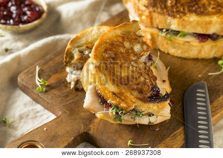 Homemade Thanksgiving Turkey Panini