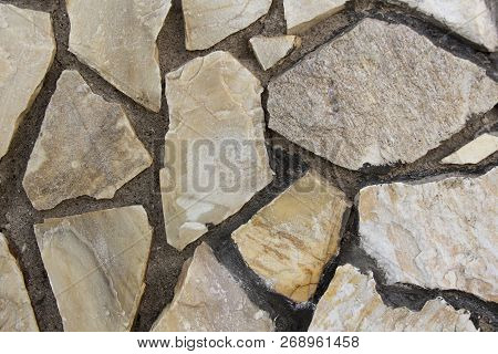 Stone Texture Background Detail Of Sand Stone Texture, Old Stone Masonry Wall Texture Background, Ba