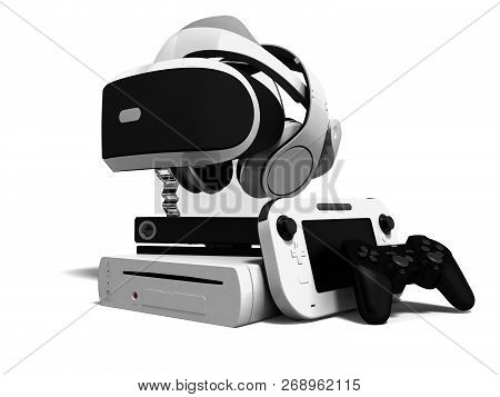 Concept Game Consoles Goggles For Reality Reality Headphones Gaming Joysticks And Cost Effective Gam