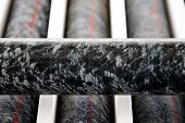 Ultramafic Cumulate Rock Core from Exploration Drilling poster