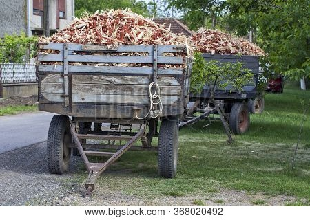 Corn Cob Waste For Heating