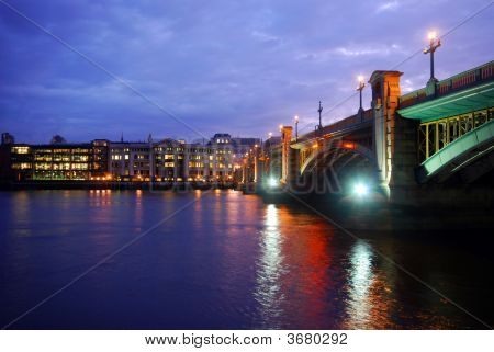 Southwark Bridge In London