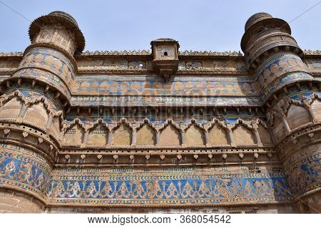 Gwalior, Madhya Pradesh/india : March 15, 2020 - Exterior Of Man Singh Palace