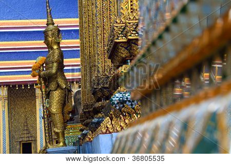 Die Aufnahme stammt aus dem Ki??nigspalast in Bangkok - Thailand poster