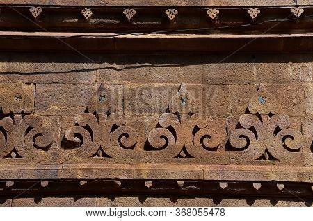 Gwalior, Madhya Pradesh/india : March 15, 2020 - Exterior Of Gujari Mahal In Gwalior Fort