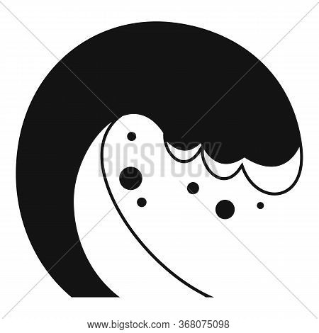 Building Tsunami Icon. Simple Illustration Of Building Tsunami Vector Icon For Web Design Isolated O
