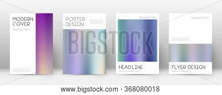 Flyer Layout. Minimal Tempting Template For Brochure, Annual Report, Magazine, Poster, Corporate Pre
