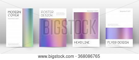Flyer Layout. Minimal Unusual Template For Brochure, Annual Report, Magazine, Poster, Corporate Pres