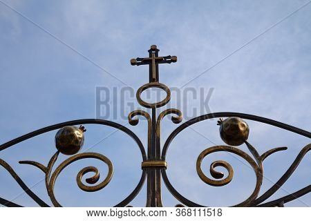 Church Forged Fence Against The Sky, Religion