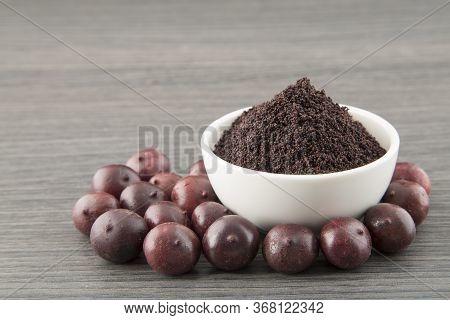 Acai Berries And Acai Powder - Euterpe Oleracea