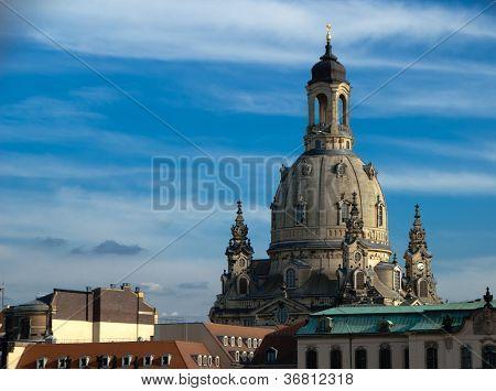 The Frauenkirche In Dresden, Detail