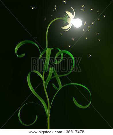 Light Bulb Flower
