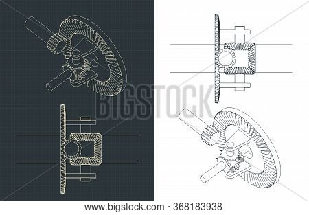 Automobile Differential Drawings
